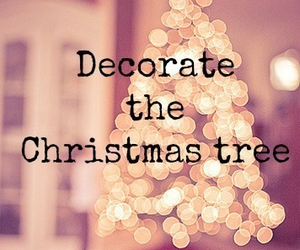christmas, tree, and decorating image