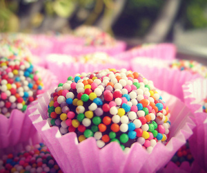 colorful, food, and sweet image