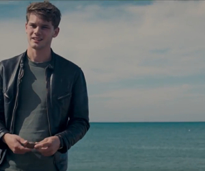 beach, jeremy irvine, and now is good image