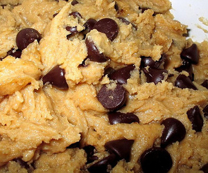 cookie dough, food, and chocolate image