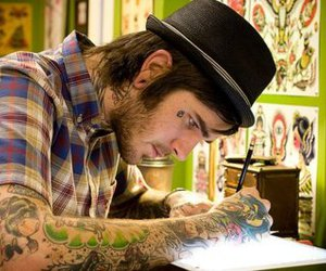 boy, tattoo, and cute image