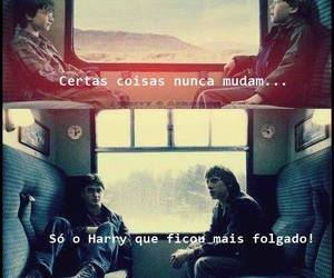 harry potter, time, and harry e ron image