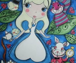 alice, desenho, and cute image