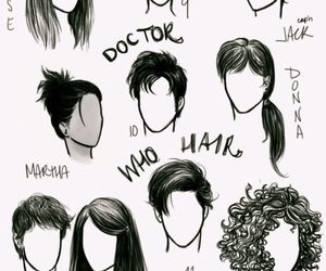 doctor who, hair, and rose tyler image
