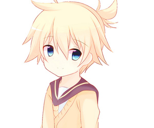 kagamine len, kawaii, and vocaloid image