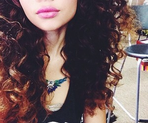 beautiful, curls, and curly hair image