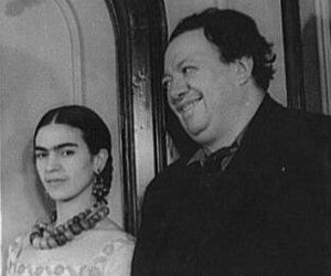 Diego Rivera and frida kahlo image