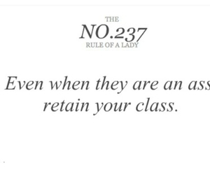 ass, quote, and class image