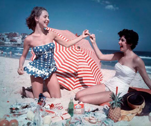 beach, vintage, and 50s image
