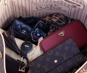 bag, Prada, and chanel image