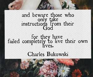 quote, Bukowski, and charles bukowski image