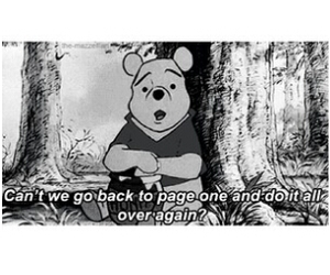 pooh, quote, and wish image