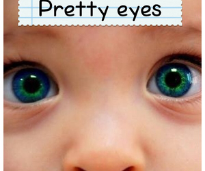 baby, eyes, and pretty image