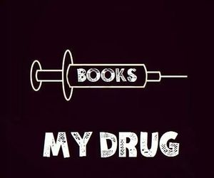 book and drugs image