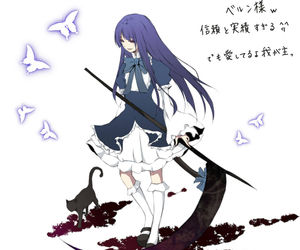 anime, butterfly, and bernkastel image