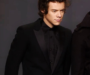 one direction, suit, and Harry Styles image