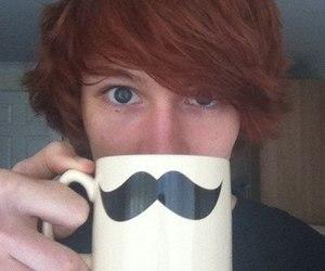 charlieissocoollike, boy, and mustache image