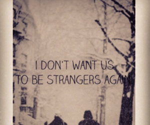 again, strangers, and wish image