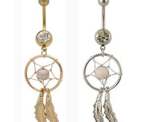 belly, dreamcatcher, and jewelry image