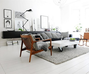 black, clean, and decor image