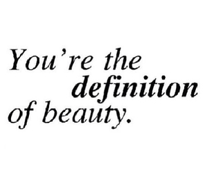 beauty, definition, and you image
