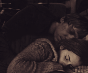 bed, emma watson, and harry potter image