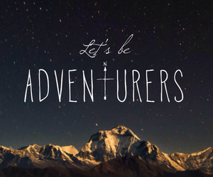 wallpaper, adventure, and mountains image