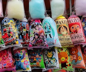 cotton candy and kawaii image