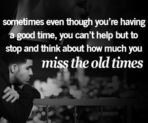 quote, Drake, and memories image