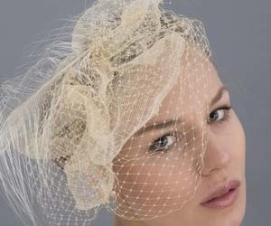 headpieces, women, and veils image