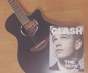 clash, guitar, and matthew healy image