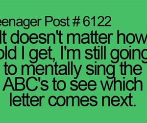 ABC, funny, and teenager post image