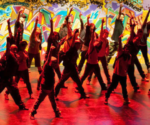 colors, dance, and people image