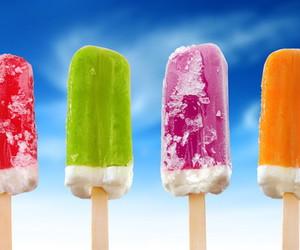 summer, ice cream, and ice image