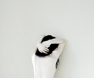 pale, white, and back image