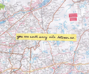 distance, miles, and quote image