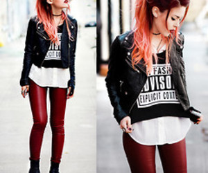 style, outfit, and hipster image