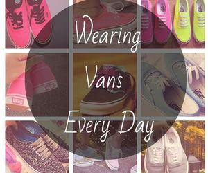 wearing vans every day image