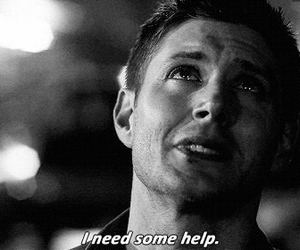 supernatural, winchester, and dean image