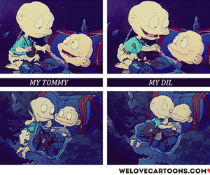 rugrats, siblings, and tommy image