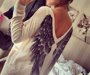 angel, fashion, and cute image