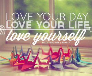 love, life, and origami image