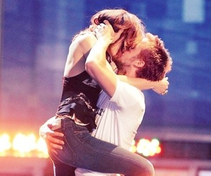kiss, ryan gosling, and rachel mcadams image