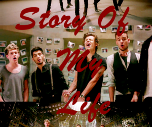 one direction, story of my life, and Harry Styles image