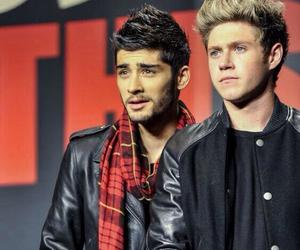 niall horan, one direction, and zayn mallik image