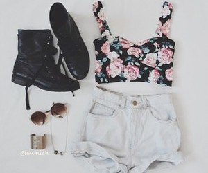beuty, summer, and flowers image