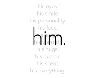 eyes, His, and love hurts image