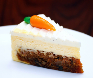 cake, carrot, and cream image