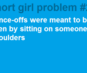 girl, short girl problems, and girls image