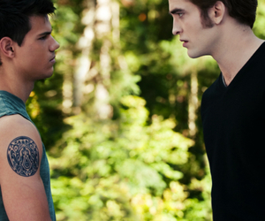 edward cullen, jacob black, and eclipse image